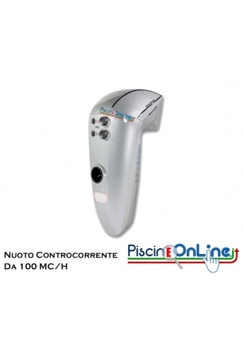 NUOTO CONTROCORRENTE - AQUAJET SREAM 100 - PER PISCINE INTERRATE E FUORITERRA