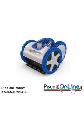 RICAMBI PER PULITORE IDRAULICO ROBOT HAYWARD MODELLO: AquaNaut® 450