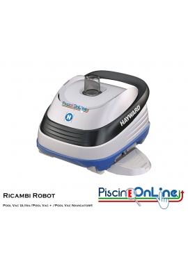 RICAMBI PER PULITORE IDRAULICO ROBOT HAYWARD MODELLI: Pool Vac Ultra® / Pool Vac + / Pool Vac Navigator®