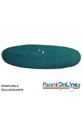 CUSCINO GONFIABILE E GALLEGGIANTE IN MATERIALE IMPERMEABILE -PER PISCINE E GIARDINI - 4 COLORI