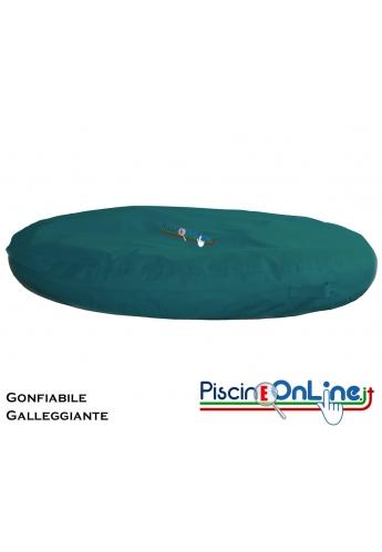 CUSCINO GONFIABILE E GALLEGGIANTE IN MATERIALE IMPERMEABILE - 2 PEZZI A CONFEZIONE - 4 COLORI