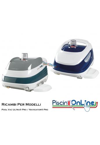 RICAMBI PER PULITORE IDRAULICO ROBOT HAYWARD MODELLI: Pool Vac Ultra® Pro - Navigator® Pro