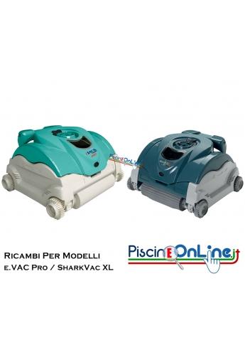 RICAMBI PER PULITORE IDRAULICO ROBOT HAYWARD MODELLI: - e.VAC Pro™ / SharkVac XL™
