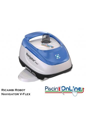 RICAMBI PER PULITORE IDRAULICO ROBOT HAYWARD MODELLO: Navigator V-Flex