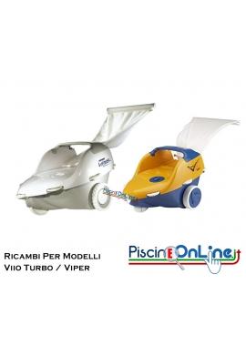 RICAMBI PER PULITORE IDRAULICO ROBOT HAYWARD MODELLI: VIIO TURBO / VIPER