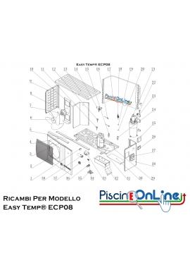 RICAMBI PER POMPA DI CALORE - Easy Temp® ECP08
