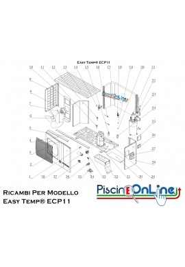 RICAMBI PER POMPA DI CALORE - Easy Temp® ECP11