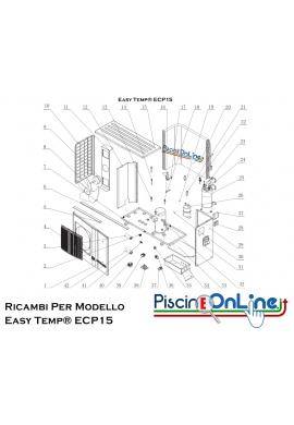 RICAMBI PER POMPA DI CALORE - Easy Temp® ECP15