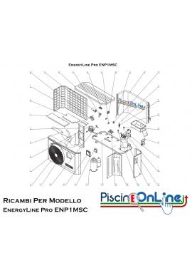 RICAMBI PER POMPA DI CALORE HAYWARD - EnergyLine Pro ENP1MSC
