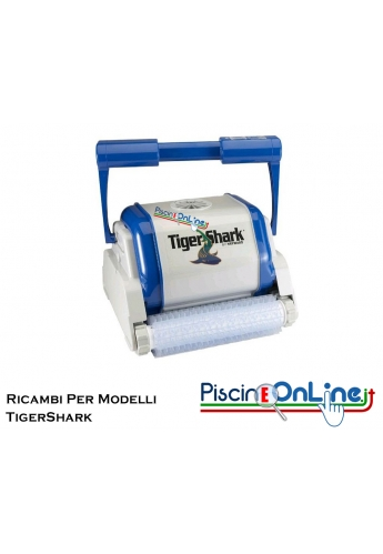 RICAMBI PER PULITORE IDRAULICO ROBOT HAYWARD MODELLI: TIGERSHARK - QC - PLUS - TS2