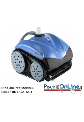 RICAMBI PER ROBOT PISCINA DOLPHIN MAYTRONICS - MODELLO: DOLPHIN - RS2 - RS1