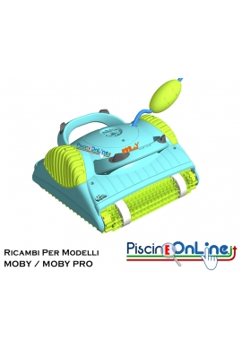 RICAMBI PER ROBOT PISCINA DOLPHIN MAYTRONICS - MODELLI: DOLPHIN MOBY/MOBY PRO