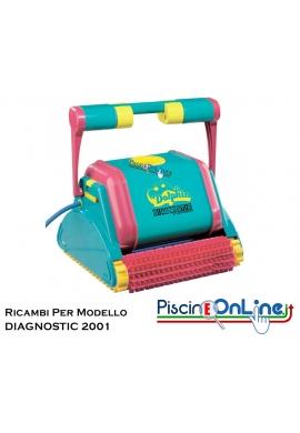 RICAMBI PER ROBOT PISCINA DOLPHIN MAYTRONICS - MODELLO: DOLPHIN DIAGNOSTIC 2001