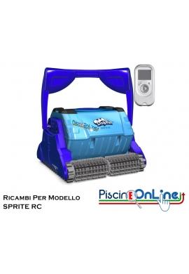 RICAMBI PER ROBOT PISCINA DOLPHIN MAYTRONICS - MODELLO: DOLPHIN SPRITE C