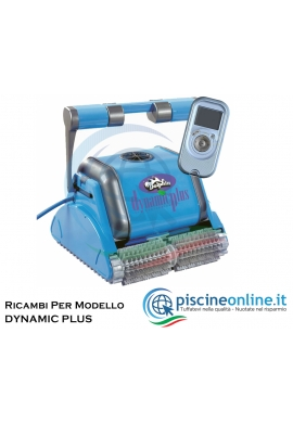 RICAMBI PER ROBOT PISCINA DOLPHIN MAYTRONICS - MODELLO: DOLPHIN DYNAMIC PLUS