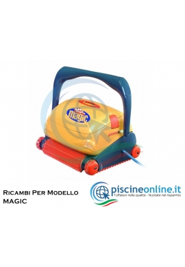 RICAMBI PER ROBOT PISCINA DOLPHIN MAYTRONICS - MODELLO: DOLPHIN MAGIC