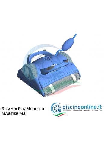 RICAMBI PER ROBOT PISCINA DOLPHIN MAYTRONICS - MODELLO: DOLPHIN MASTER M3