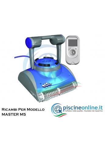 RICAMBI PER ROBOT PISCINA DOLPHIN MAYTRONICS - MODELLO: DOLPHIN MASTER M5