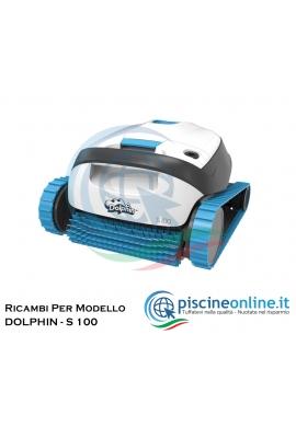 RICAMBI PER ROBOT PISCINA DOLPHIN MAYTRONICS - MODELLO: DOLPHIN - S 100