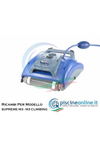 RICAMBI PER ROBOT PISCINA DOLPHIN MAYTRONICS - MODELLO: DOLPHIN SUPREME M3 - SUPREME M3 CLIMBING