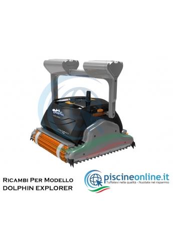 RICAMBI PER ROBOT PISCINA DOLPHIN MAYTRONICS - MODELLO: DOLPHIN EXPLORER