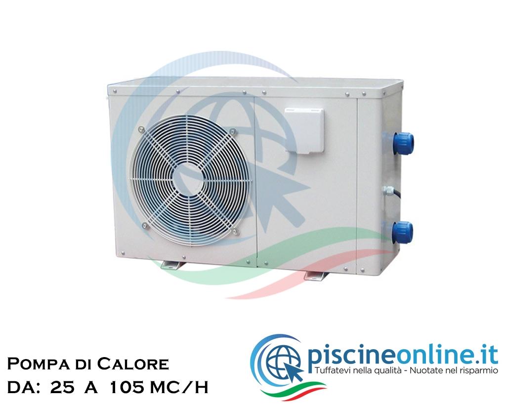 Pompa Di Calore Per Bagno pompe di calore per il riscaldamento acqua della piscina - 5 versioni da:  25 a 105 - mc/h