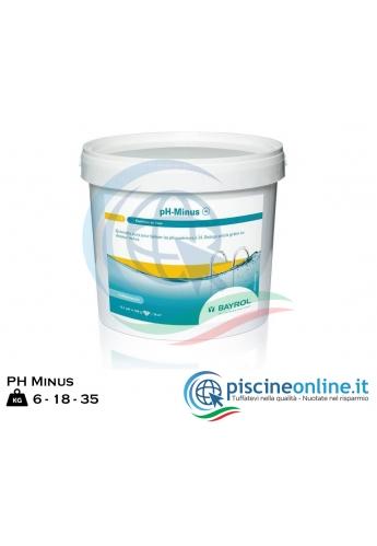 PH MINUS by BAYROL - PRODOTTO GRANULARE (6- 18- 35 KG) PER ABBASSARE IL VALORE DEL PH NELLE ACQUE DI PISCINA