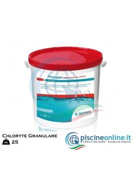 CHLORYTE BAYROL - IPOCLORITO DI CALCIO GRANULARE. CONFEZIONI DA 25 KG