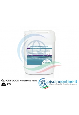 QUICKFLOCK AUTOMATIC PLUS BAYROL - FLOCCULANTE LIQUIDO CONCENTRATO PER LA FLOCCULAZIONE IN CONTINUO 20KG