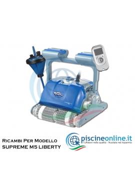 RICAMBI PER ROBOT PISCINA DOLPHIN MAYTRONICS - MODELLO: DOLPHIN SUPREME M5 LIBERTY