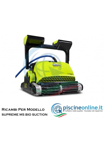 RICAMBI PER ROBOT PISCINA DOLPHIN MAYTRONICS - MODELLO: DOLPHIN SUPREME M5 BIO-SUCTION