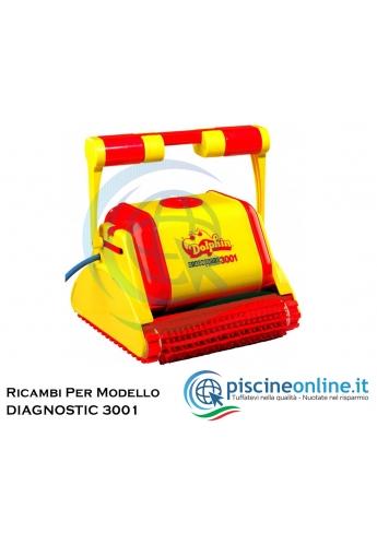 RICAMBI PER ROBOT PISCINA DOLPHIN MAYTRONICS - MODELLO: DOLPHIN DIAGNOSTIC 3001
