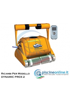 RICAMBI PER ROBOT PISCINA DOLPHIN MAYTRONICS - MODELLO: DOLPHIN DYNAMIC PROX 2