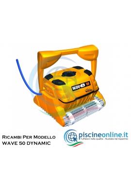 RICAMBI PER ROBOT PISCINA DOLPHIN MAYTRONICS - MODELLO: DOLPHIN WAVE 50 DYNAMIC