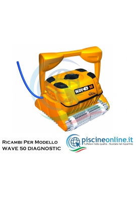 RICAMBI PER ROBOT PISCINA DOLPHIN MAYTRONICS - MODELLO: DOLPHIN WAVE 50 DIAGNOSTIC