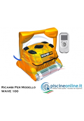 RICAMBI PER ROBOT PISCINA DOLPHIN MAYTRONICS - MODELLO: DOLPHIN WAVE 100