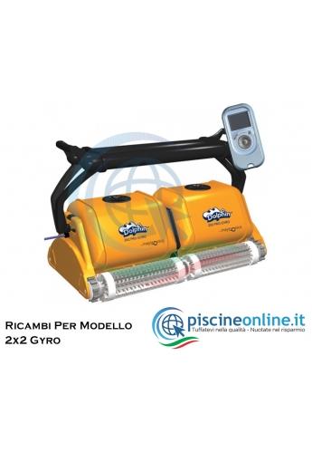 RICAMBI PER ROBOT PISCINA DOLPHIN MAYTRONICS - MODELLO: DOLPHIN 2X2 GYRO