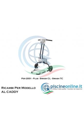 """RICAMBI PER CARRELLO PORTA ROBOT DOLPHIN MAYTRONICS - MODELLO: CARRELLO """"PRO CADDY"""""""