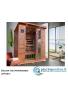 Sauna ad Infrarossi per tre persone in cedro rosso