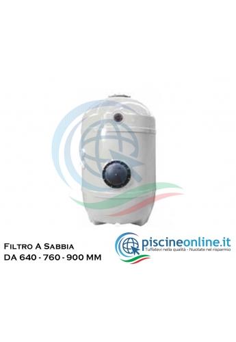 FILTRO ROMA A NORMA UNI 10637 CON LETTO FILTRANTE 0,60M - DUE MODELLI CON DIAMETRO 640 - 800