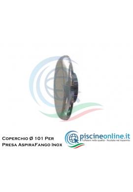 COPERCHIO PER PRESA ASPIRA FANGO INOX - Ø 101