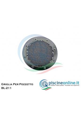 FLANGIA / GRIGLIA IN ACCIAIO INOX PER BOCCHETTA RL-319