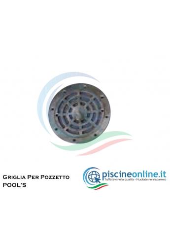 FLANGIA / GRIGLIA IN ACCIAIO INOX PER POZZETTO DI FONDO BL-211