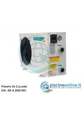 POMPA DI CALORE PER IL RISCALDAMENTO ACQUA DELLA PISCINA - 7 VERSIONI DA 45 A 200 MC/H