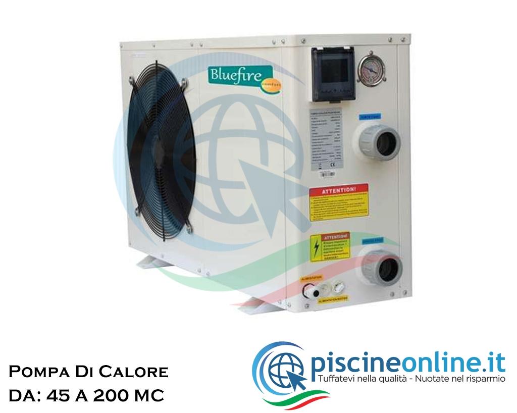 Pompa Di Calore Per Bagno pompa di calore per il riscaldamento acqua della piscina - 7 versioni da 45  a 200 mc/h