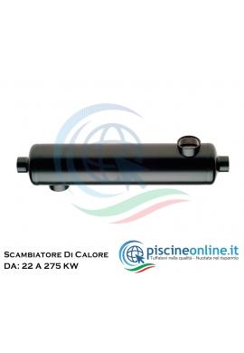 SCAMBIATORE DI CALORE IN ACCIAIO INOX 316L COMPATIBILE CON SISTEMI DI RISCALDAMENTO ALTERNATIVI - 7 MODELLI