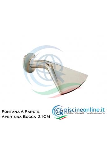 CASCATA MINI IN ACCIAIO INOX 304 LUCIDA