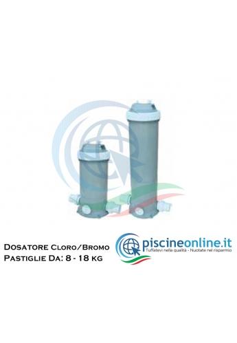 DOSATORE DI CLORO / BROMO IN PASTIGLIE DA 1,8 KG