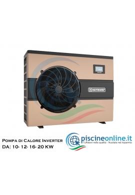 POMPA DI CALORE HAYWARD ENERGY LINE PRO INVERTER A VELOCITA' VARIABILE - DA 10 A 20 Kw, MONOFASE
