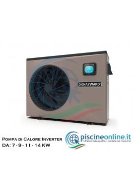 POMPA DI CALORE EASY TEMP HAYWARD - DA 5,8 A 15.5 Kw, MONOFASE / TRIFASE